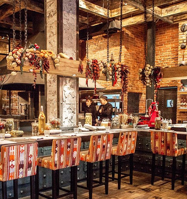 Новое место: Обновлённый «Шинок» — Рестораны на The Village