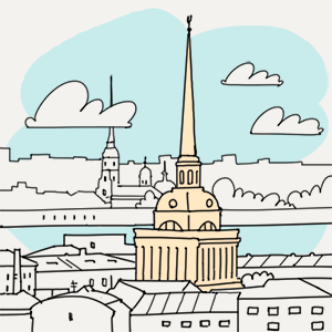14 апреля — Утро в Петербурге на The Village