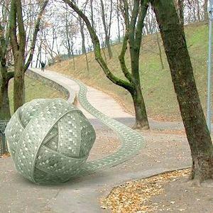 В Киеве появятся новые скульптуры Kiev Fashion Park — Ситуация на The Village