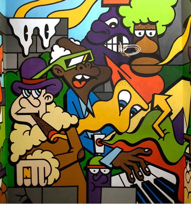 Герб Москвы: Версия граффити-художника Nootk — М.Город на The Village