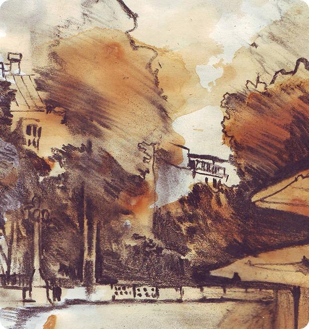 Клуб рисовальщиков: Патриаршие пруды — Клуб рисовальщиков на The Village