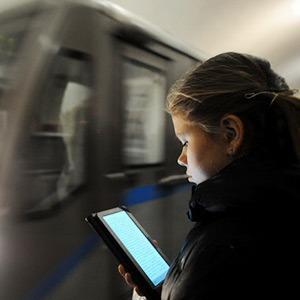 Насколько популярен Wi-Fi в метро — Москва в цифрах на The Village