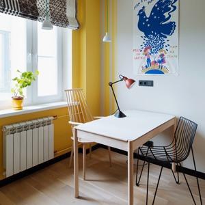 Однокомнатная холостяцкая квартира с умным зонированием — Квартира недели на The Village