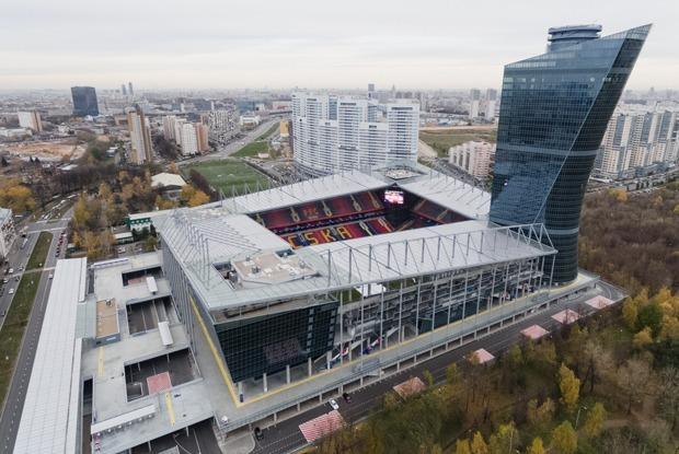 Самый необычный стадион Москвы — Москва в цифрах на The Village