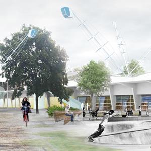 Идеи для города: Кинетический парк на месте «Набережной Европы» — Общественные пространства на The Village