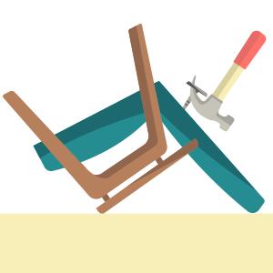 Своими руками: Обновить обивку старого кресла — Вещи для дома на The Village