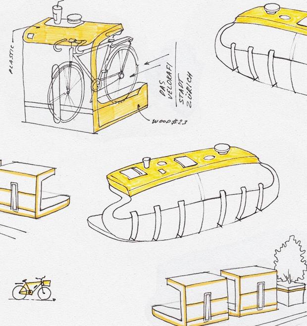 Идеи для города: Велокафе в Цюрихе — Общественные пространства на The Village