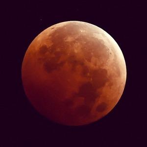 Лунное затмение в снимках Instagram