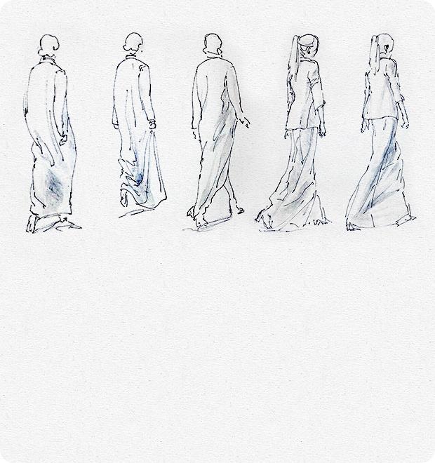 Клуб рисовальщиков: Показ мод — Клуб рисовальщиков на The Village