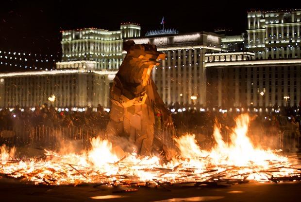 «Московскую Масленицу» посетили как минимум 800 тыс человек