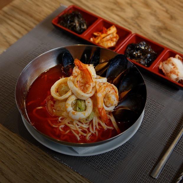 Семейный корейский ресторан «Новая Азия» на «Тульской» — Новое место на The Village