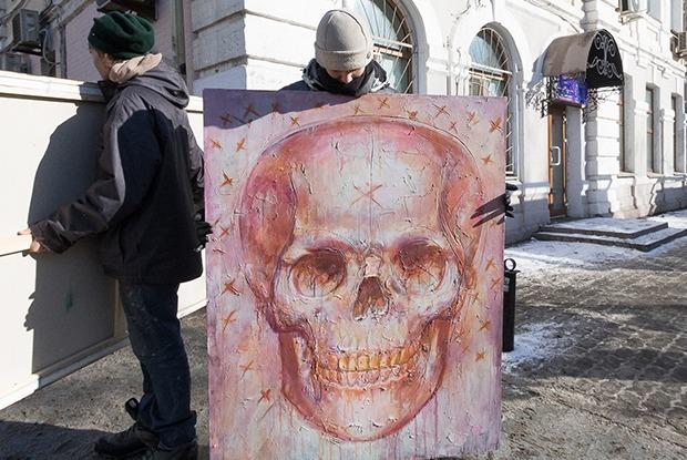 Алексей Филатов: «Мои черепа не нацелены оскорбить верующих» — Люди в городе на The Village