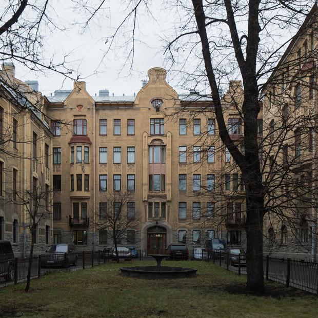 Я живу в доходном доме Лидваль (Петербург) — Где ты живёшь на The Village