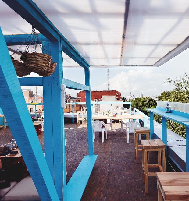 Новое место: Кафе «Крышабар» — Новое место на The Village