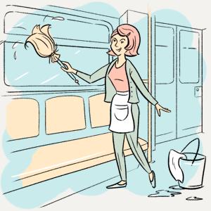 «Как часто в метро моют вагоны?» — Есть вопрос на The Village