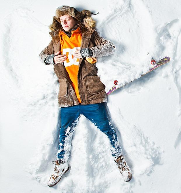 Люди в городе: Где катаются скейтеры зимой