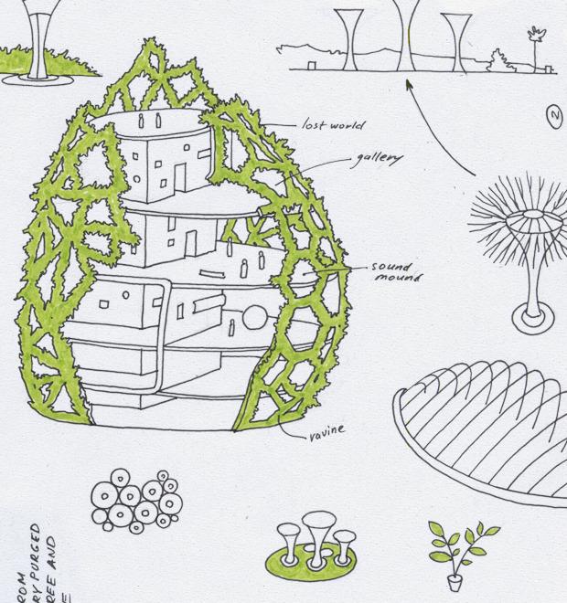 Идеи для города: Механический лес вСингапуре — Иностранный опыт на The Village