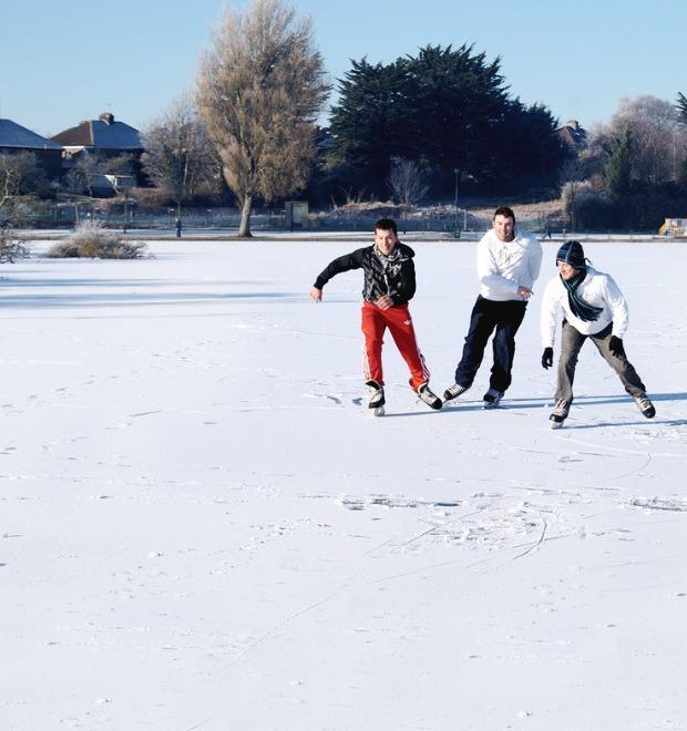 Лёд тронулся: Открытые катки в Петербурге  — Общественные пространства на The Village