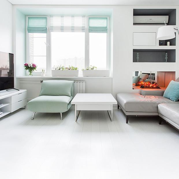 Пятикомнатная квартира в белых тонах на Мосфильмовской — Квартира недели на The Village