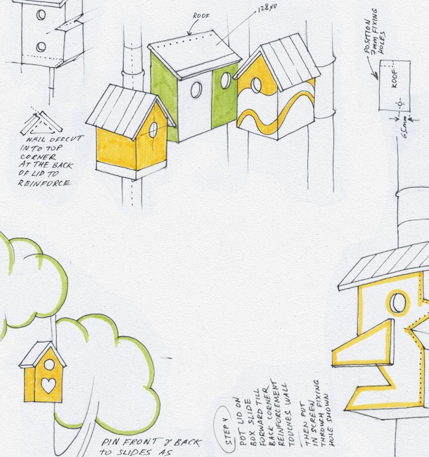 Идеи для города: Скворечники из мусора в Дании — Иностранный опыт на The Village