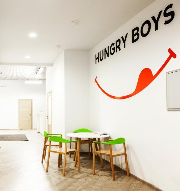Офис недели (Москва): Hungry Boys — Интерьер недели на The Village