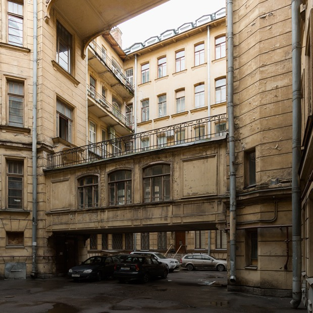 Я живу в доме Бака на Кирочной улице (Петербург) — Где ты живёшь на The Village