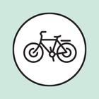 В городе начали ставить гигантские велопарковки
