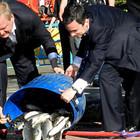 В Голицынский пруд Парка Горького выпустили 400 кг рыбы