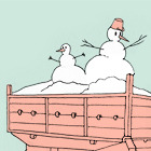 Есть вопрос: Куда из Киева вывозят снег?
