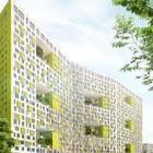 В Москве построят многоэтажку с зелёными дворами на разных этажах