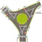 В столице изменены ПДД на круговых перекрестках