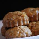 Мини-кексы с белым шоколадом и орешками