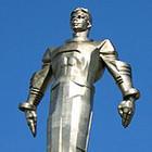С Ленинского проспекта похищен памятник Гагарину