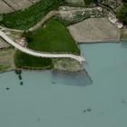 Оползневое озеро в Пакистане
