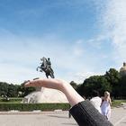 Эксперимент The Village: Самые популярные места для фотографий из Петербурга