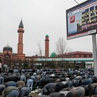 Репортаж с праздника Курбан-Байрам в Москве и Петербурге