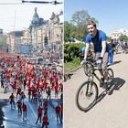 Спорт в городе: Пробег роллеров, велопарад и «Русская пробежка»