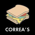Составные части: Cэндвич с ростбифом из Correa's