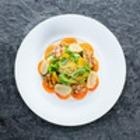 Рецепты шефов: Цитрусовый салат с гребешками