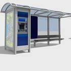 200 остановок оборудуют автоматами с кофе, терминалами оплаты и картой города