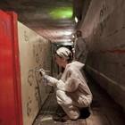 Добровольцы разукрасили туннель около «Винзавода»