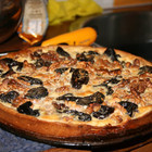 Тарт с черносливом и грецким орехом