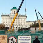 Вопреки ЮНЕСКО Лужков начал строительство у стен Кремля и Дома Пашкова