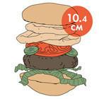 Между булок: что внутри у самых больших московских бургеров, часть 1