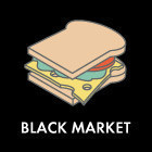 Составные части: Вегетарианский сэндвич из Black Market