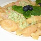 Макароны- карамельки в сливочном соусе