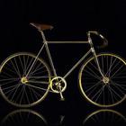 Золотой велосипед ручной работы