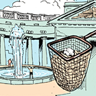 Есть вопрос: Куда исчезают монеты из фонтанов?