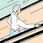 Есть вопрос: «Почему поручни и ступени эскалатора движутся с разной скоростью?»