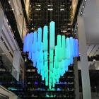 В столичном универмаге появилась световая инсталляция